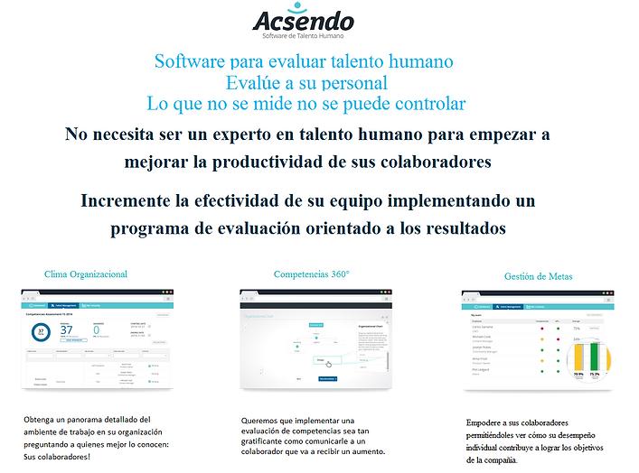 Software para evaluar talent