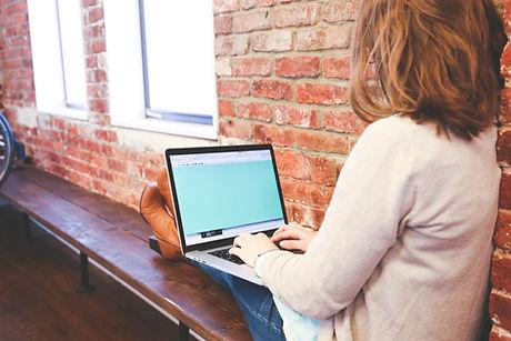 Online leren.