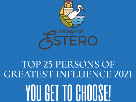 TOP 25 PERSONS OF GREATEST INFLUENCE 2021