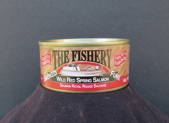 Skinless Boneless Smoked Red Spring Salmon