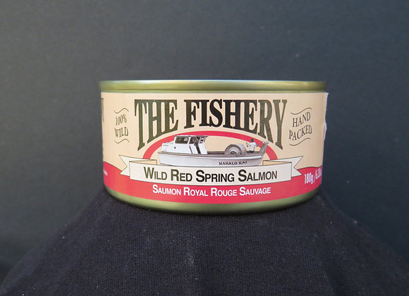 Plain Red Spring Salmon