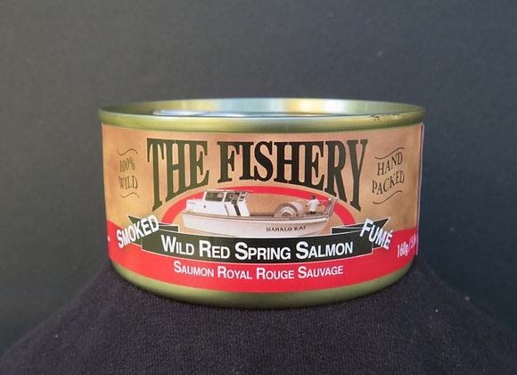 Smoked Red Spring Salmon