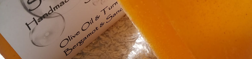 Olive Oil & Turmeric Glycerine Soap