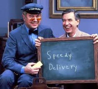 Courier Service, Speedy delivery with Mr. Rodgers!