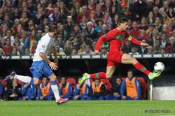 Portugal's forward Cristiano Ronaldo