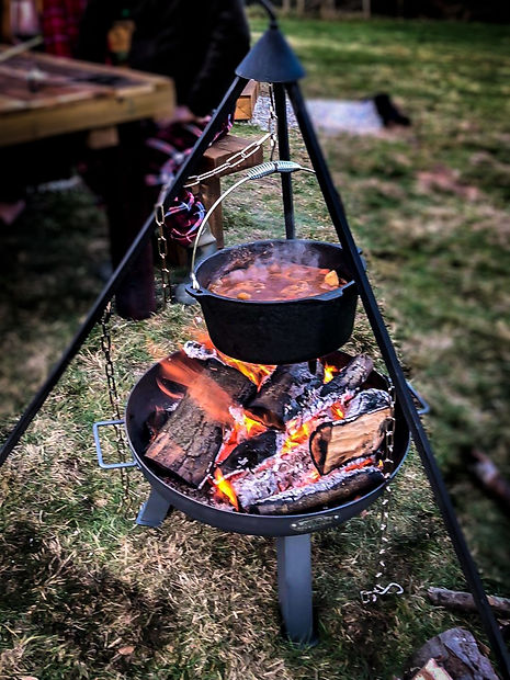 Pentref-Luxury-Camping-Fire