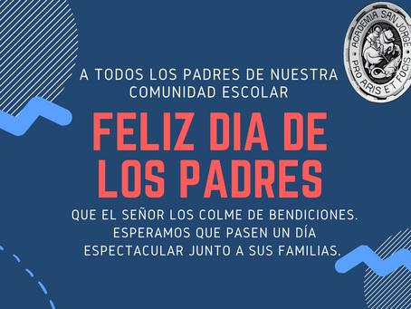 ¡Feliz día de Padres!
