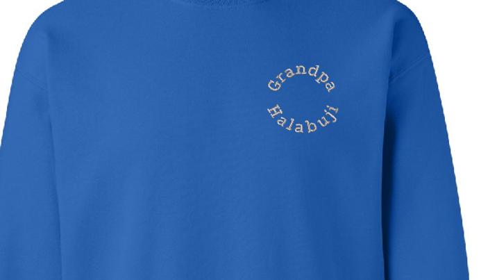 Personalized Sweatshirt Embroidered Fleece Sweatshirt Name Word Phrase o
