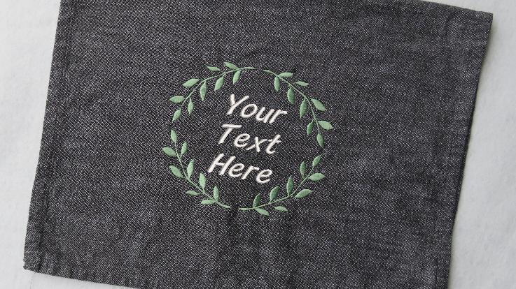 Customizable Hand Towel Dish Towel Tea Towel Kitchen Housewarming Gift