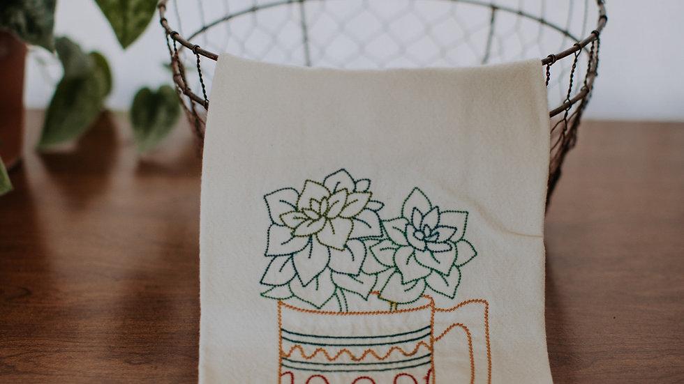 Succulent Tea Towels