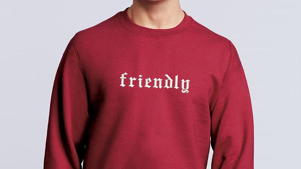 Personalized Gothic Font Sweatshirt Embroidered Sweatshirt Personalized Gift Nam