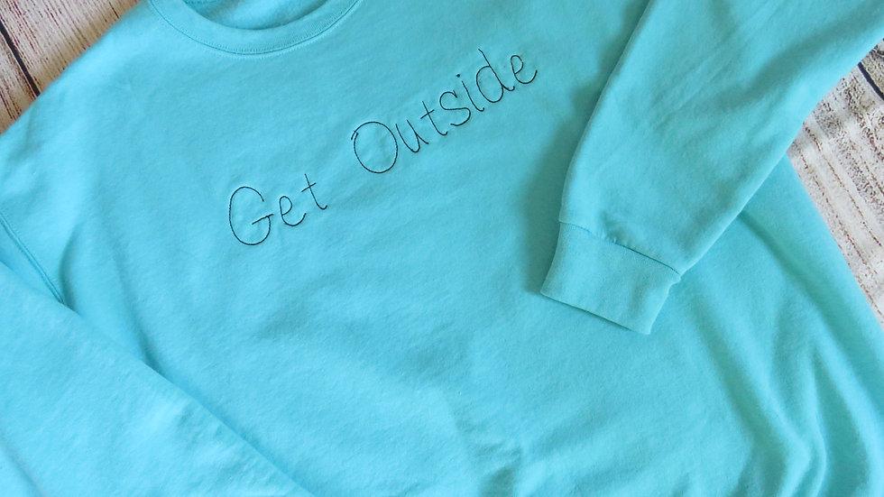 Personalized Handwriting Sweatshirt Embroidered