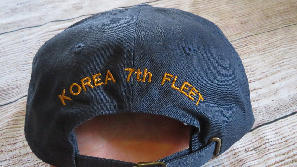 Add on Custom Embroidery to back of hat