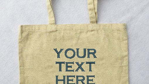 Customized Canvas Tote Bag Large Tote Bag with Gusset Bottom
