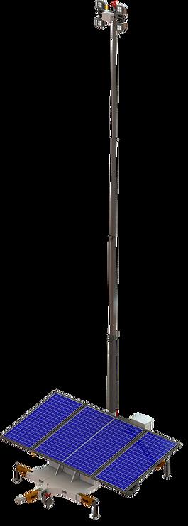 Torre de Iluminação Solar