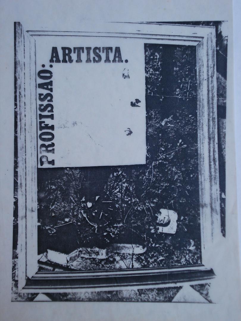 Série Marmitas, 1976.  Xerografia.