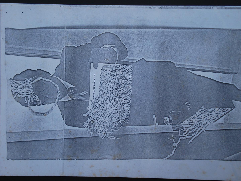 Série Executivos, 1973. Xerografia.