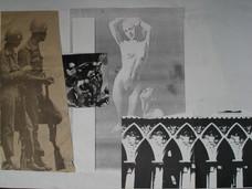 Guerrilha bela, 1982. Xerografia e colag