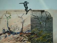 Salto da destruição, 1981. Colagem.