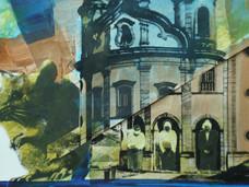 Série Guerrilha religiosa, 1985. Colagem