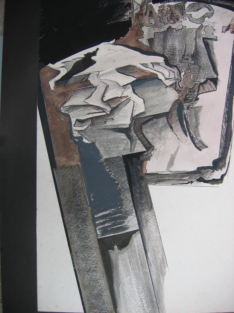 Série Encarna Encarde, 1973. Xerografia.