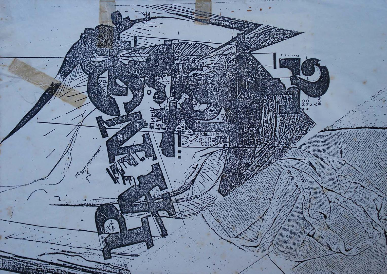 Série Encarna Encarde, 1973. Xerografia