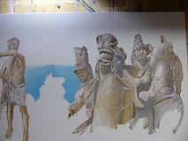 Brado do Ypiranga acr s tela 1x1,50m 201