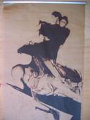 Velóro, 1975. Heliografia, 1,20 x 0,80 m