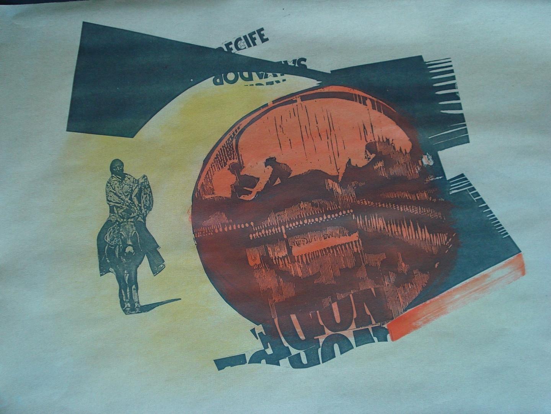 Êxodo, 1978. Xerografia, 21 x 29,7 cm.