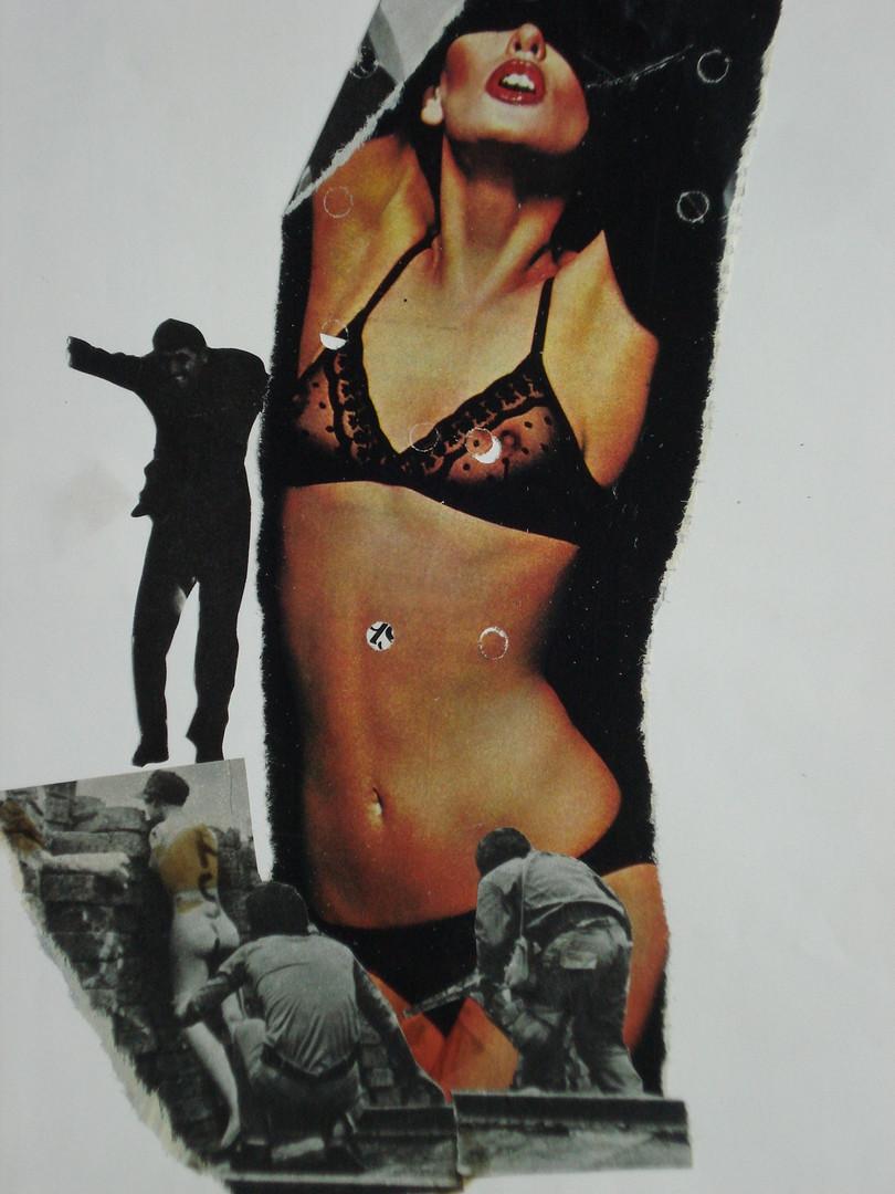 Guerrilha bela, 1982.Colagem, 29,7 x 21.