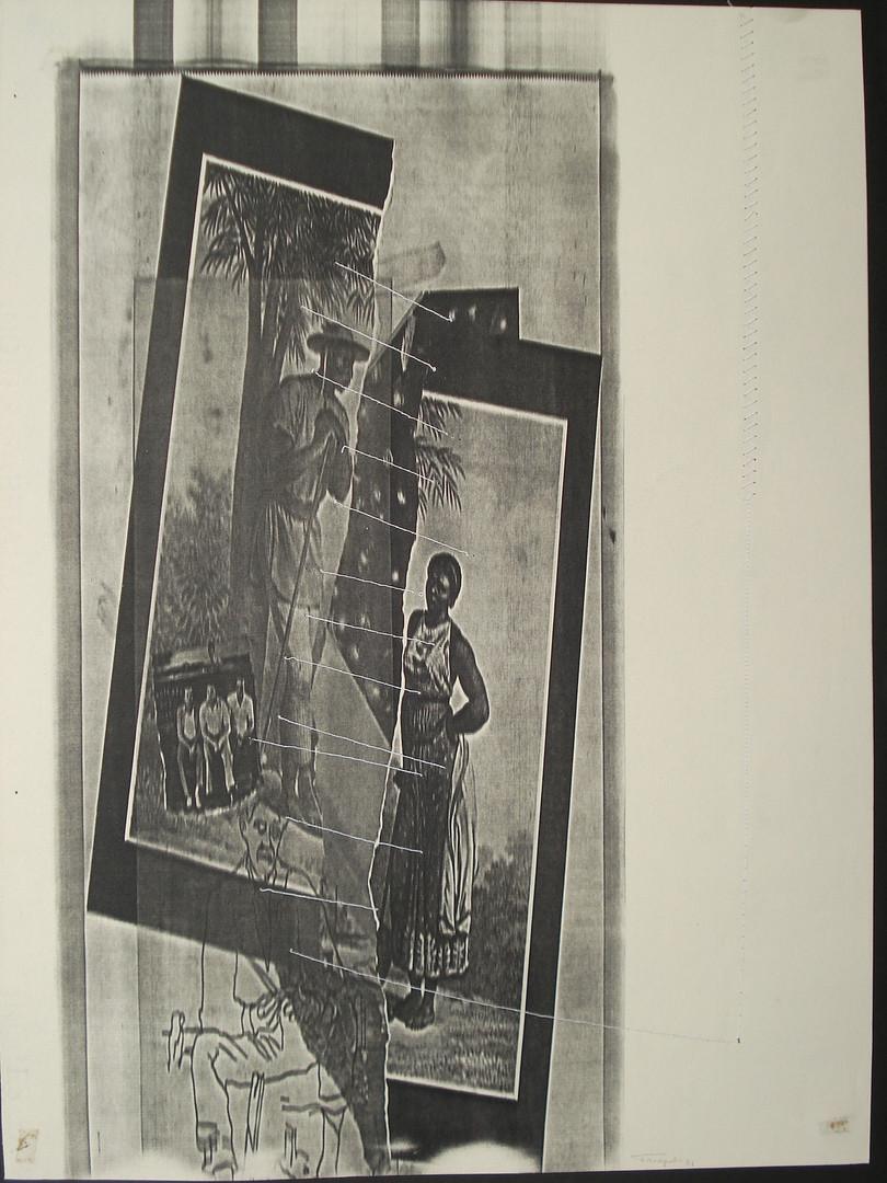 Negro e Negra, costura de raças, 1984.