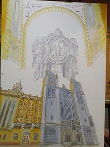 Ora et Labora Mosteiro S Bento ac s tela