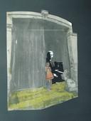 Fome cultural, 1978, Colagem, 40, 30 cm.