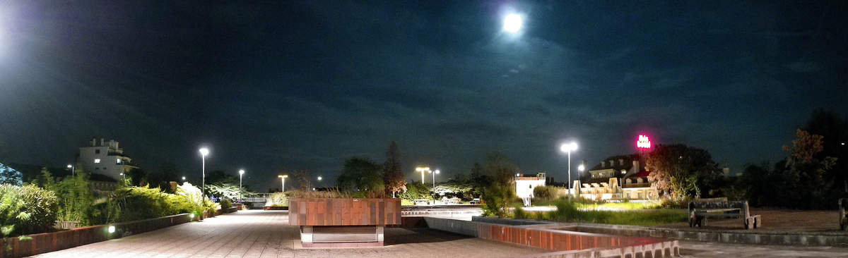 jardins suspendus perrache - le jardin de nuit