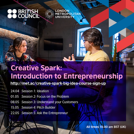 Creative Spark: Introduction to Entrepreneurship