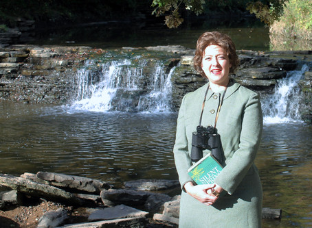 "Leslie Goddard Portrays Rachel Carson, Author of ""Silent Spring"" in Webinar"