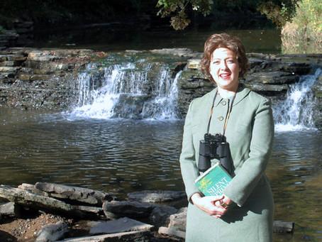 "Leslie Goddard Portrays Rachel Carson, Author of ""Silent Spring"" in Webinar"