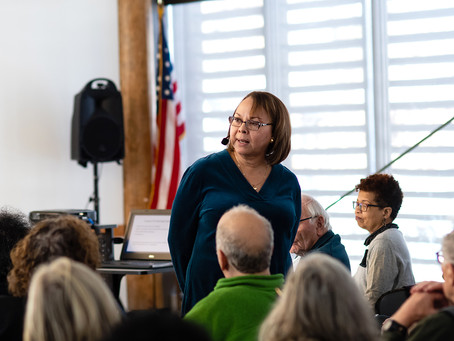 Lecture on Interracial Relationships Provokes Discussion at Levy Center
