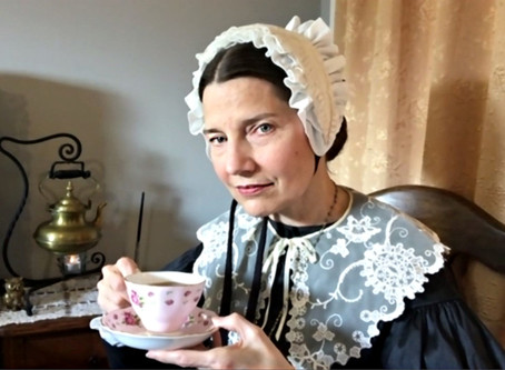 Levy Lecture Audience Enjoys Cozy Tea with Miss Florence Nightingale