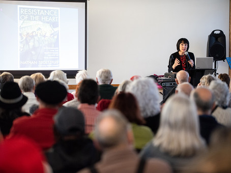 Levy Lecture Crowd Enthralled with Exploits of German Resistance to Nazism