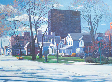Walter Burt Adams Bus Tour Highlights Evanston Backdrops and Honors a Local Legend