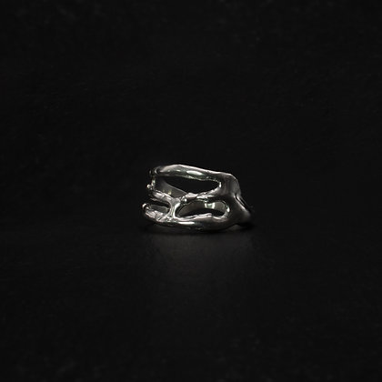 Flow Silver Ring