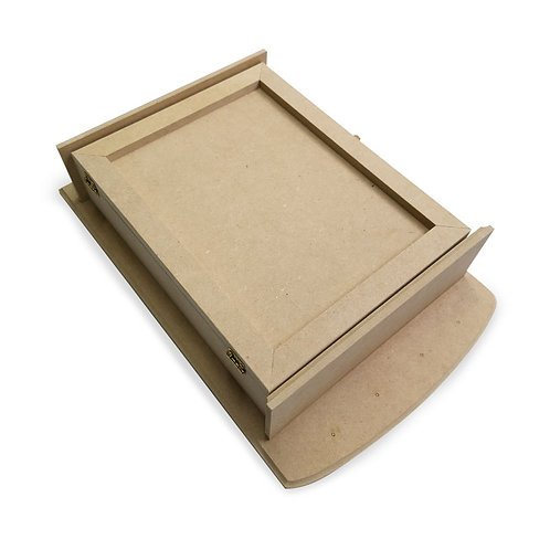 Caja para llaves con puerta para colgar