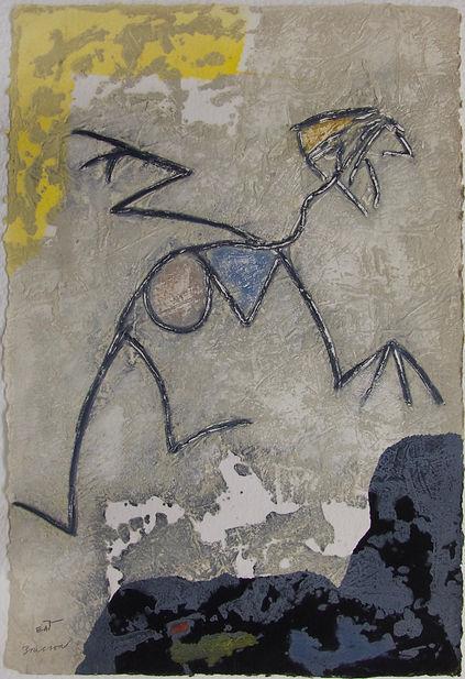 Grimpeur, 92 x 61 cm, 1984 #PMB25