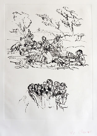 Pasnic Gravure de Jean-Paul Chambas