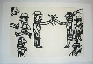 Pasnic Gravure de Antonio Seguí