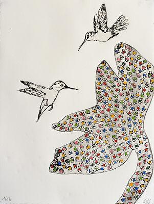 Pasnic Gravure de Mylène Kolé