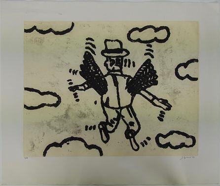 L'Ange, 75 x 105 cm, 2005 #AS73