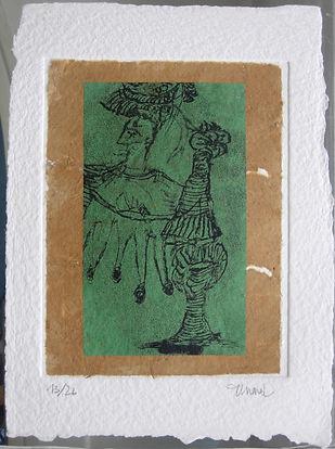 Pasnic Gravure de Emmanuelle Renard