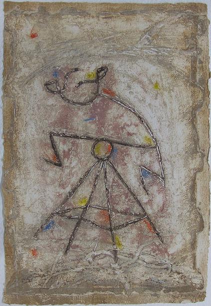 Bécassine, 92 x 61 cm, 1989 #PMB26